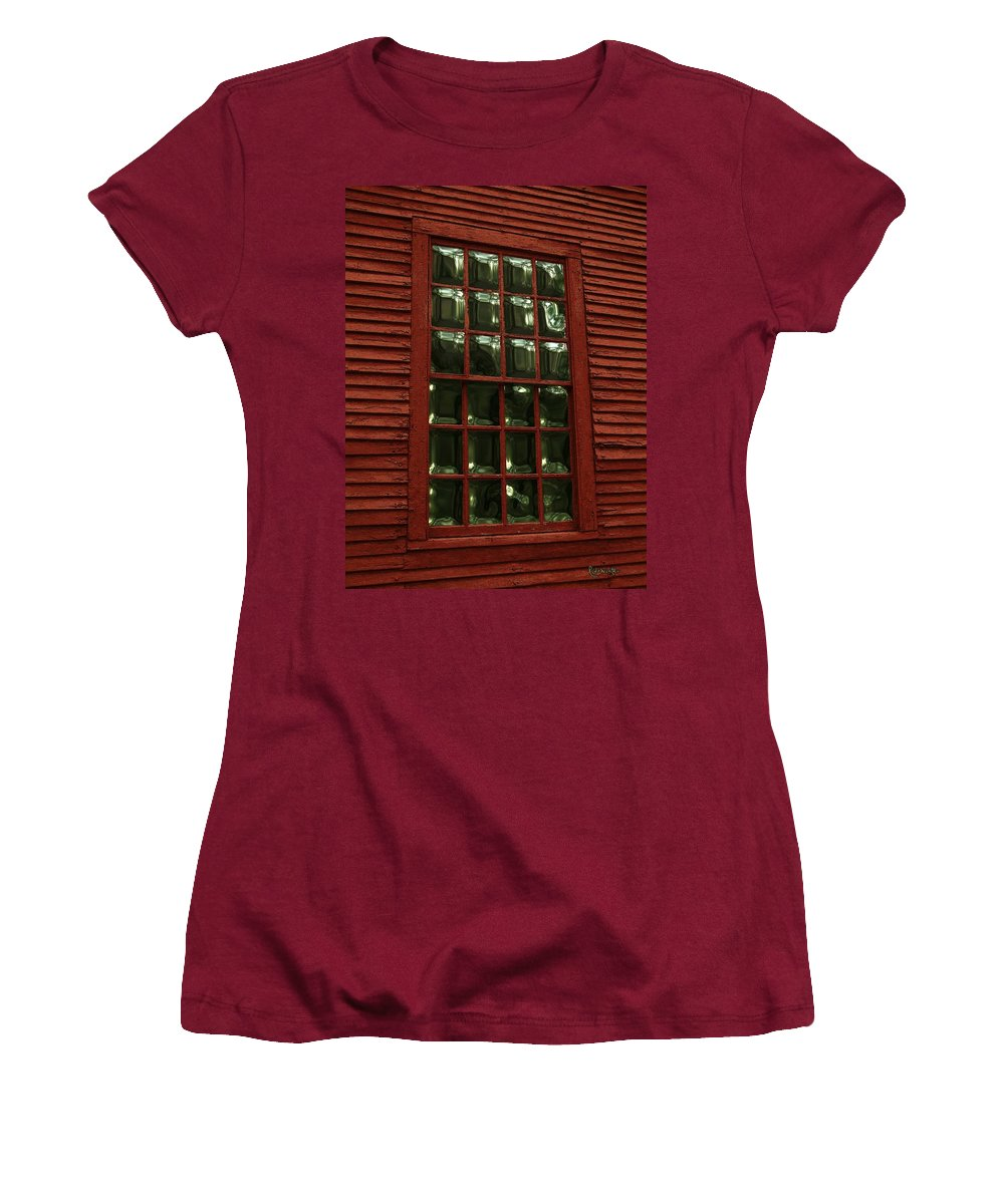 American History Women's T-Shirt (Athletic Fit) featuring the digital art Portal To The Past by RC DeWinter