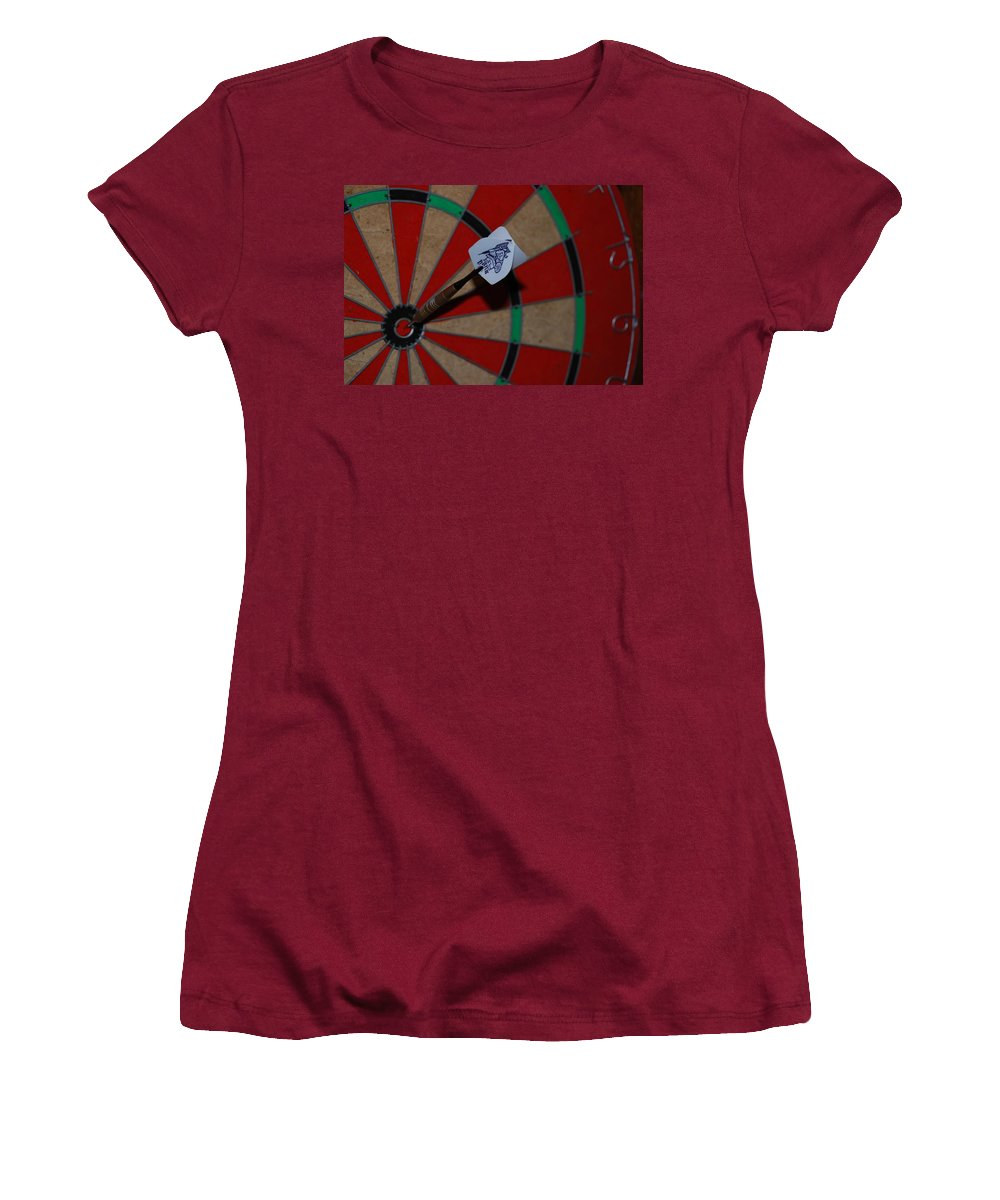 Macro Women's T-Shirt (Athletic Fit) featuring the photograph The Hans Flight by Rob Hans