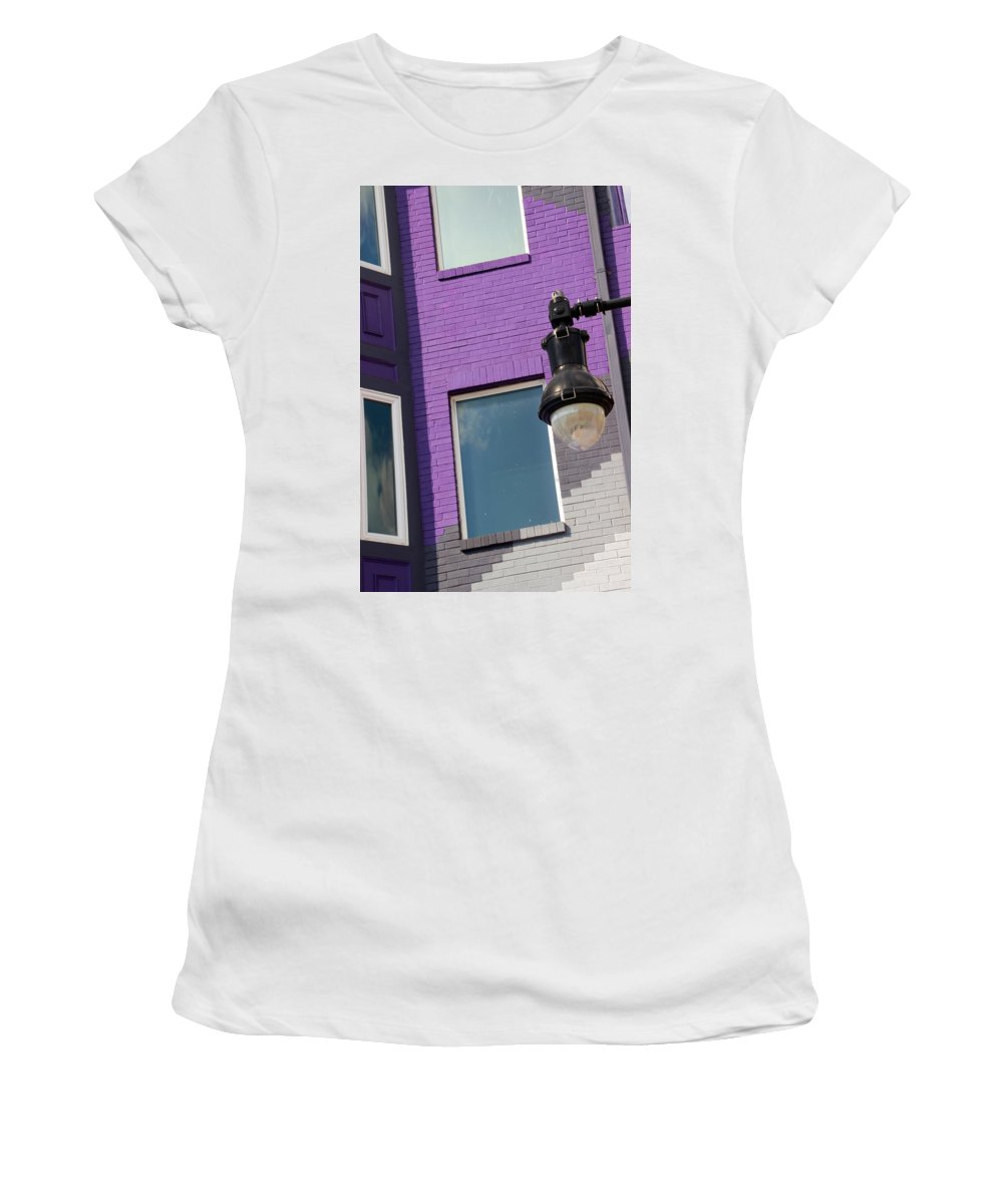 House Women's T-Shirt (Athletic Fit) featuring the photograph Bricks by Carolyn Stagger Cokley