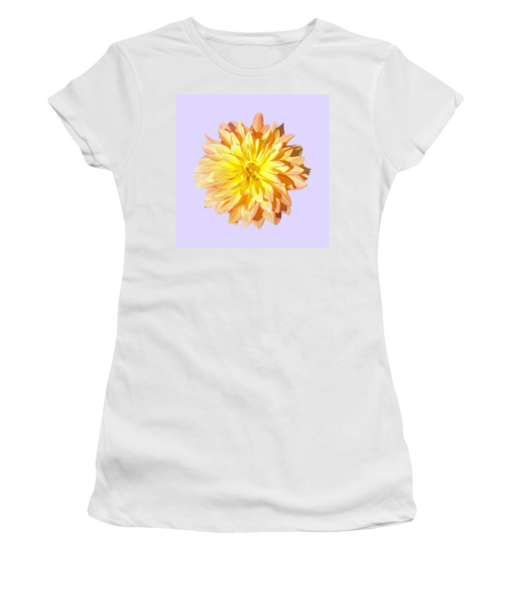 Charles Women's T-Shirt featuring the photograph Dahlia by Charles Harden