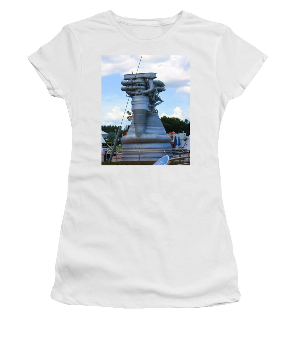 Rocket Women's T-Shirt featuring the photograph Horse Power by Chuck Hicks