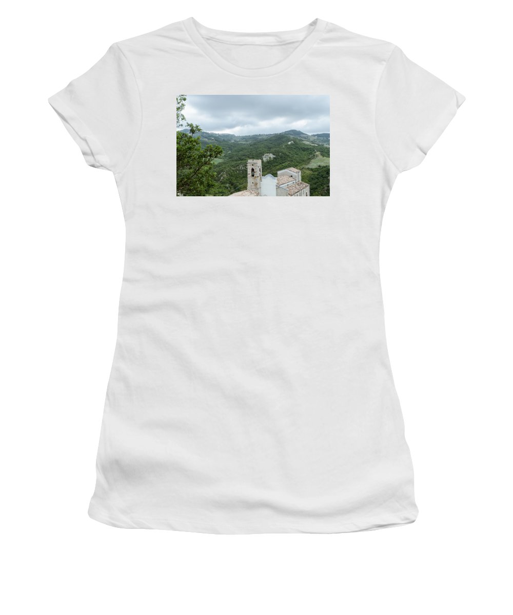Landscape Women's T-Shirt featuring the photograph Memories by Andrea Mazzocchetti