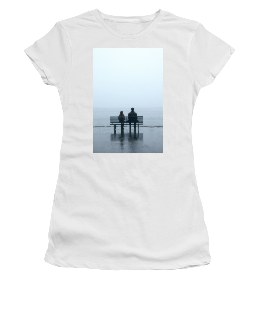 Male Women's T-Shirt (Athletic Fit) featuring the photograph Rainy Day by Joana Kruse
