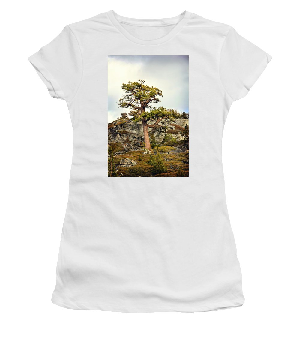 Pine Women's T-Shirt featuring the photograph Sierra Landscape by Shawn McMillan
