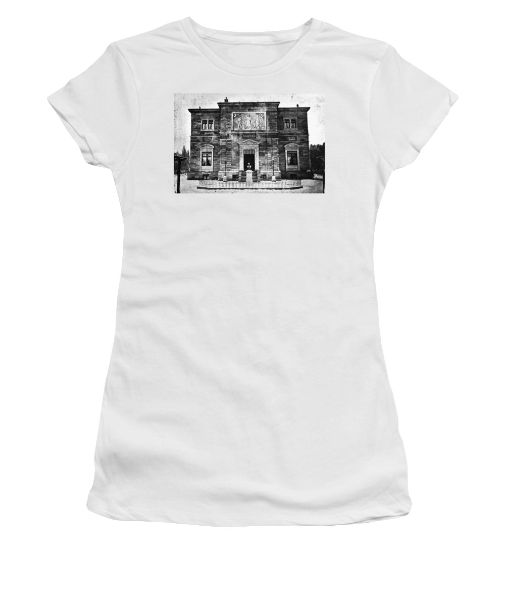 1874 Women's T-Shirt (Athletic Fit) featuring the photograph Richard Wagner (1813-1883) by Granger