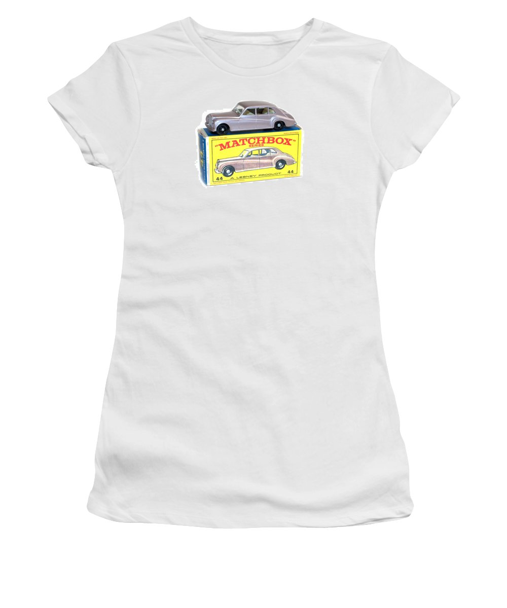 Antique Women's T-Shirt (Athletic Fit) featuring the photograph Matchbox 1-75 by Gunter Nezhoda