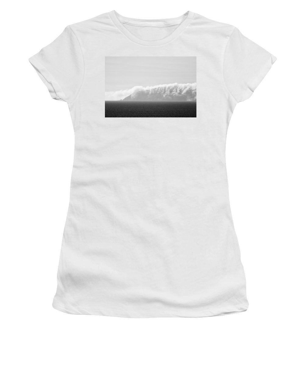 Clouds Women's T-Shirt featuring the photograph Clouds On The Coronados by Hugh Smith