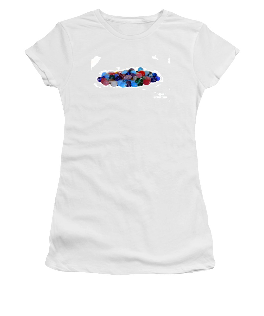 Gems Women's T-Shirt featuring the photograph Gemstones by Henrik Lehnerer
