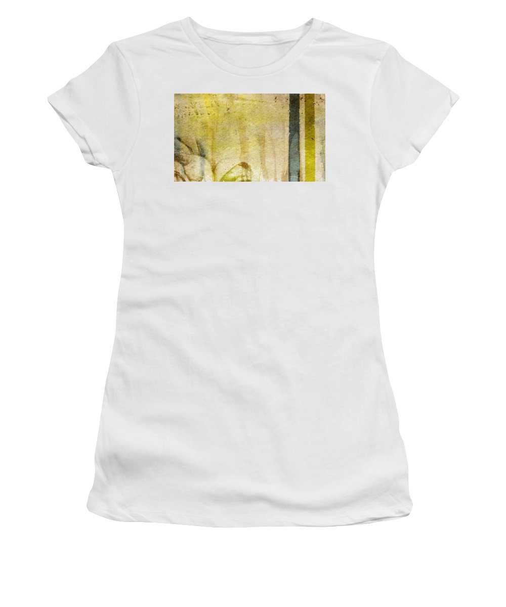 Brett Women's T-Shirt (Athletic Fit) featuring the digital art Music Of My Life by Brett Pfister