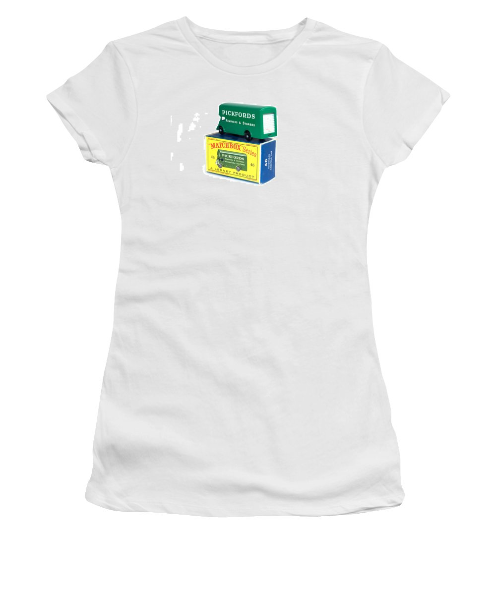 Antique Women's T-Shirt (Athletic Fit) featuring the photograph Matchbox 1-75 by Gunter Nezhoda
