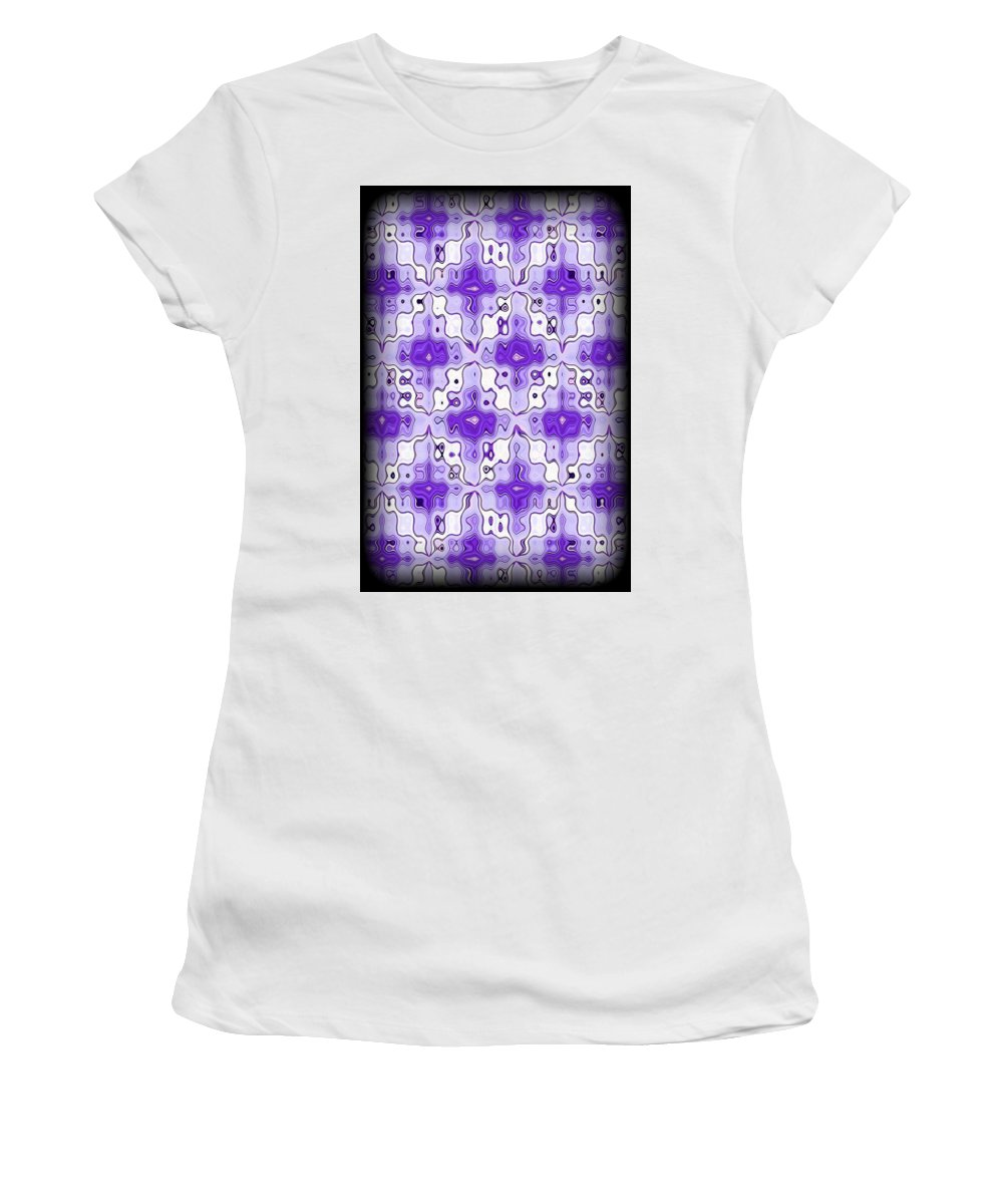 Original Women's T-Shirt (Athletic Fit) featuring the digital art Abstract 120 by J D Owen