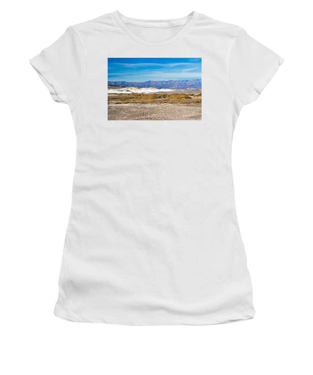 California Women's T-Shirt (Athletic Fit) featuring the photograph Salt Creek Death Valley National Park by Fred Stearns