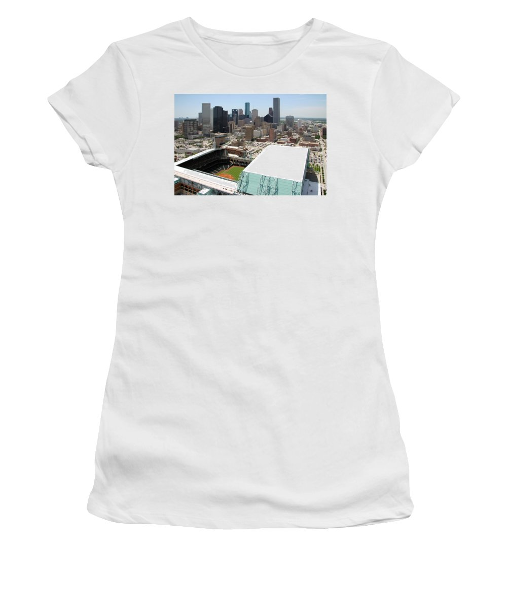 Women's T-Shirt featuring the New Upload by Bill Cobb