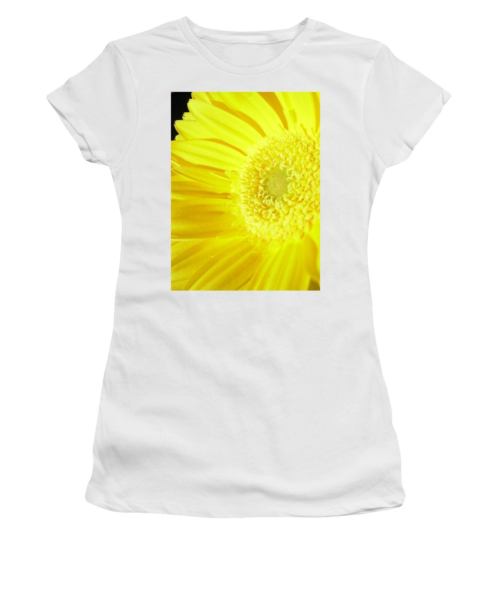 Gerbera Photographs Photographs Photographs Women's T-Shirt (Athletic Fit) featuring the photograph 3955c by Kimberlie Gerner