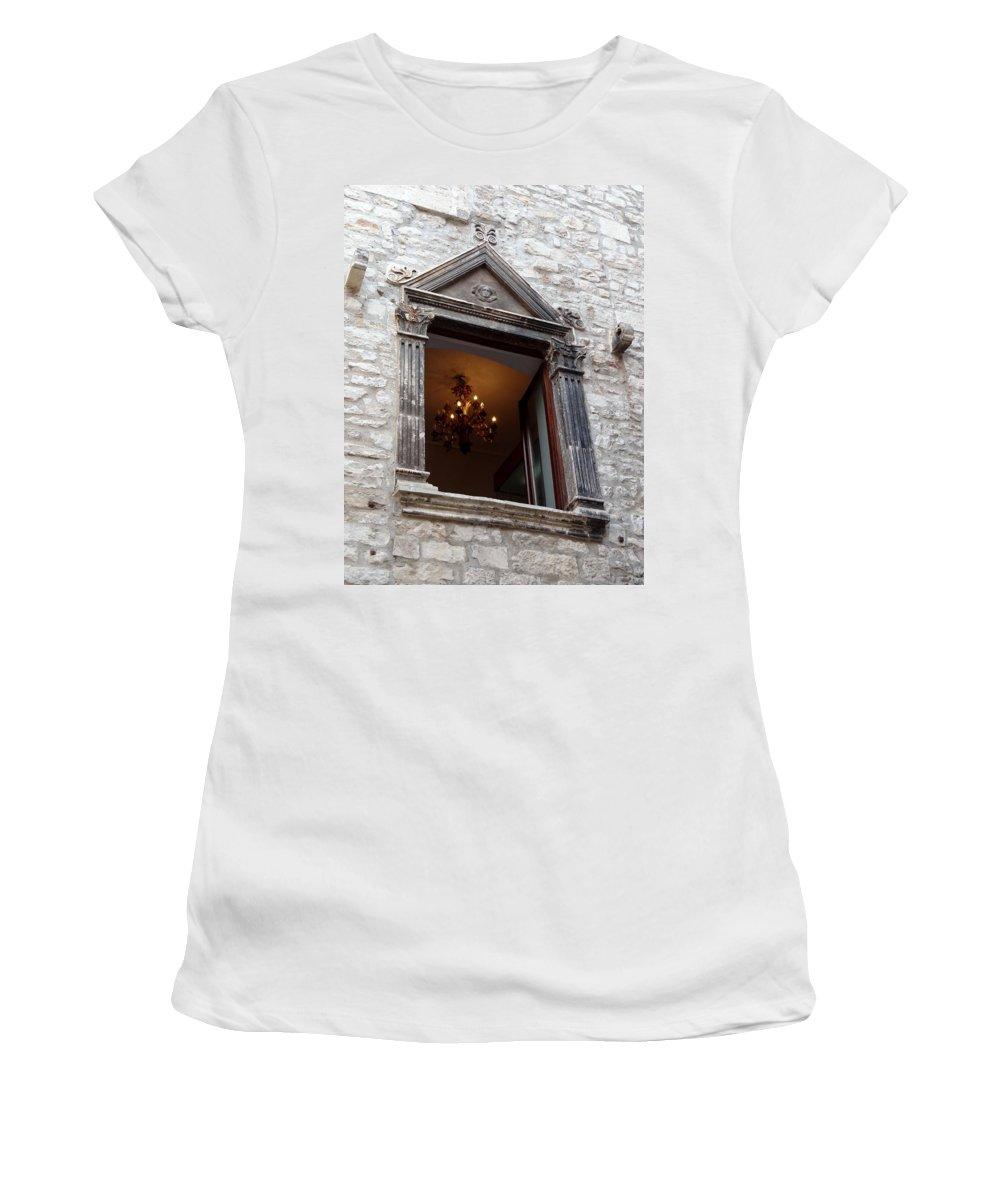 Croatia Women's T-Shirt featuring the photograph Views Of Split Croatia by Richard Rosenshein