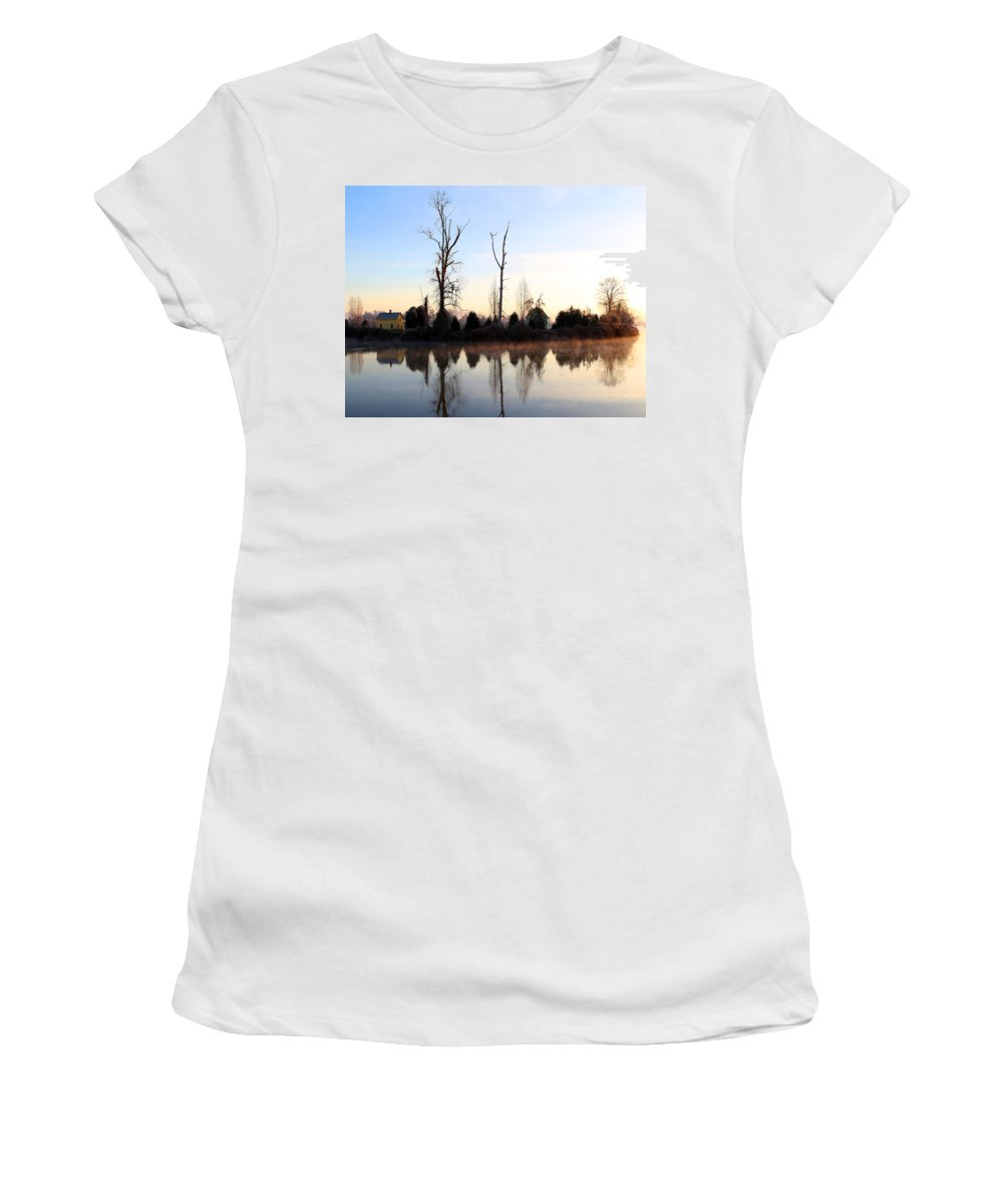 Snohomish Women's T-Shirt featuring the photograph Snohomish by Paul Fell