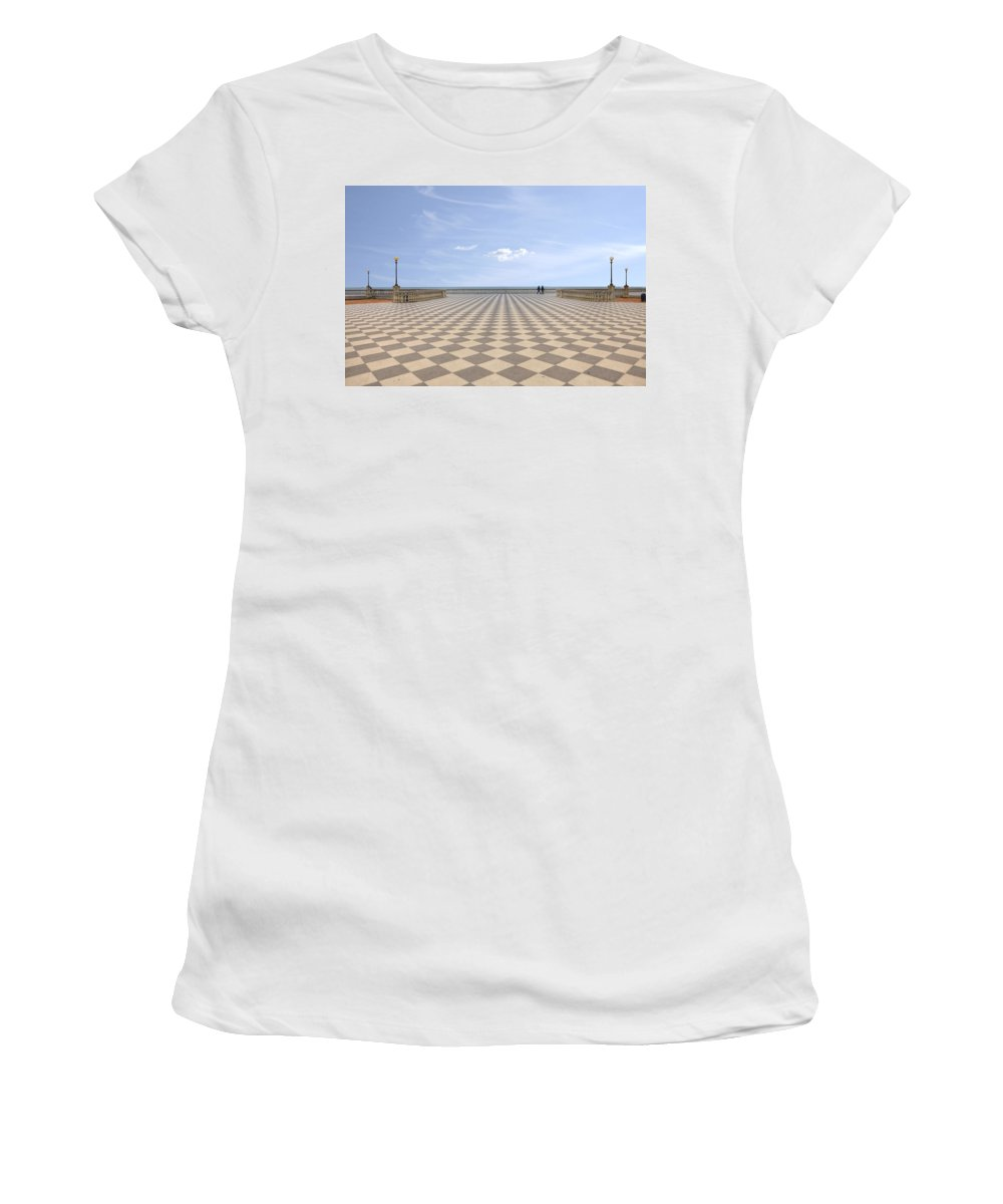 Livorno Women's T-Shirt (Athletic Fit) featuring the photograph Livorno by Joana Kruse