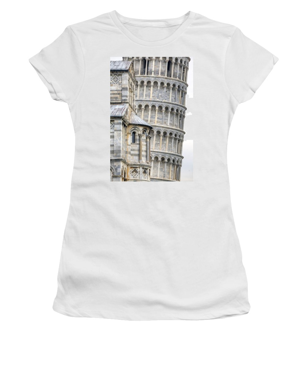 Pisa Women's T-Shirt (Athletic Fit) featuring the photograph Pisa by Joana Kruse