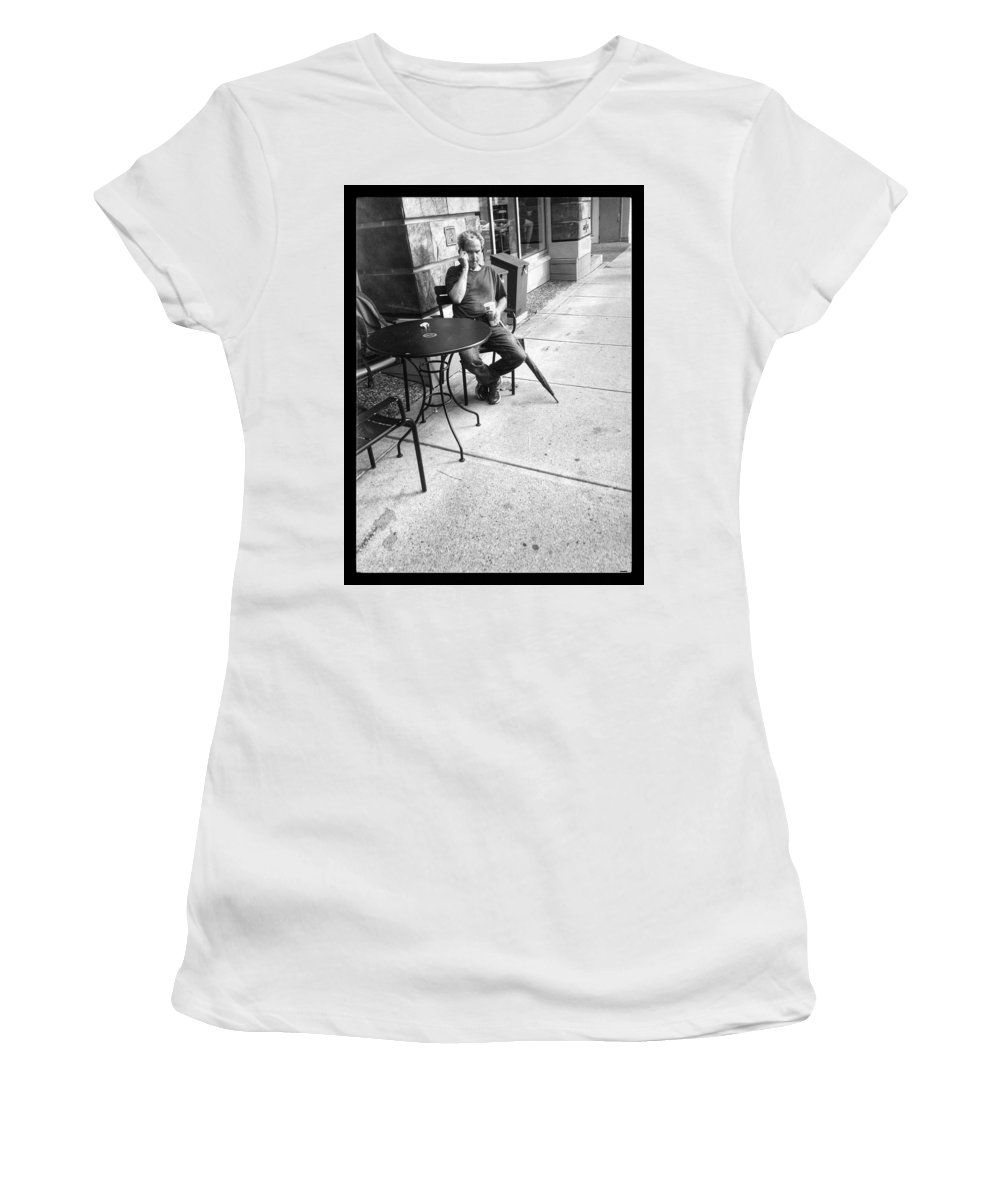 Street Women's T-Shirt featuring the photograph A Call After Rain by The Artist Project