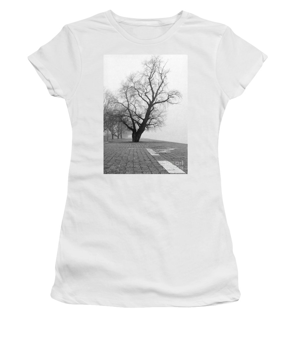 Day Women's T-Shirt featuring the photograph Alone And Lonely by Zoran Berdjan