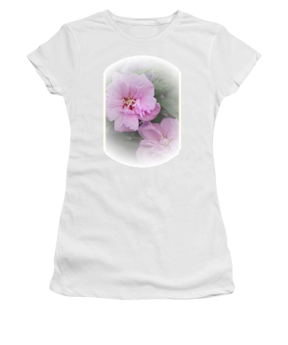 Althea Women's T-Shirt featuring the photograph Althea by Karen Beasley
