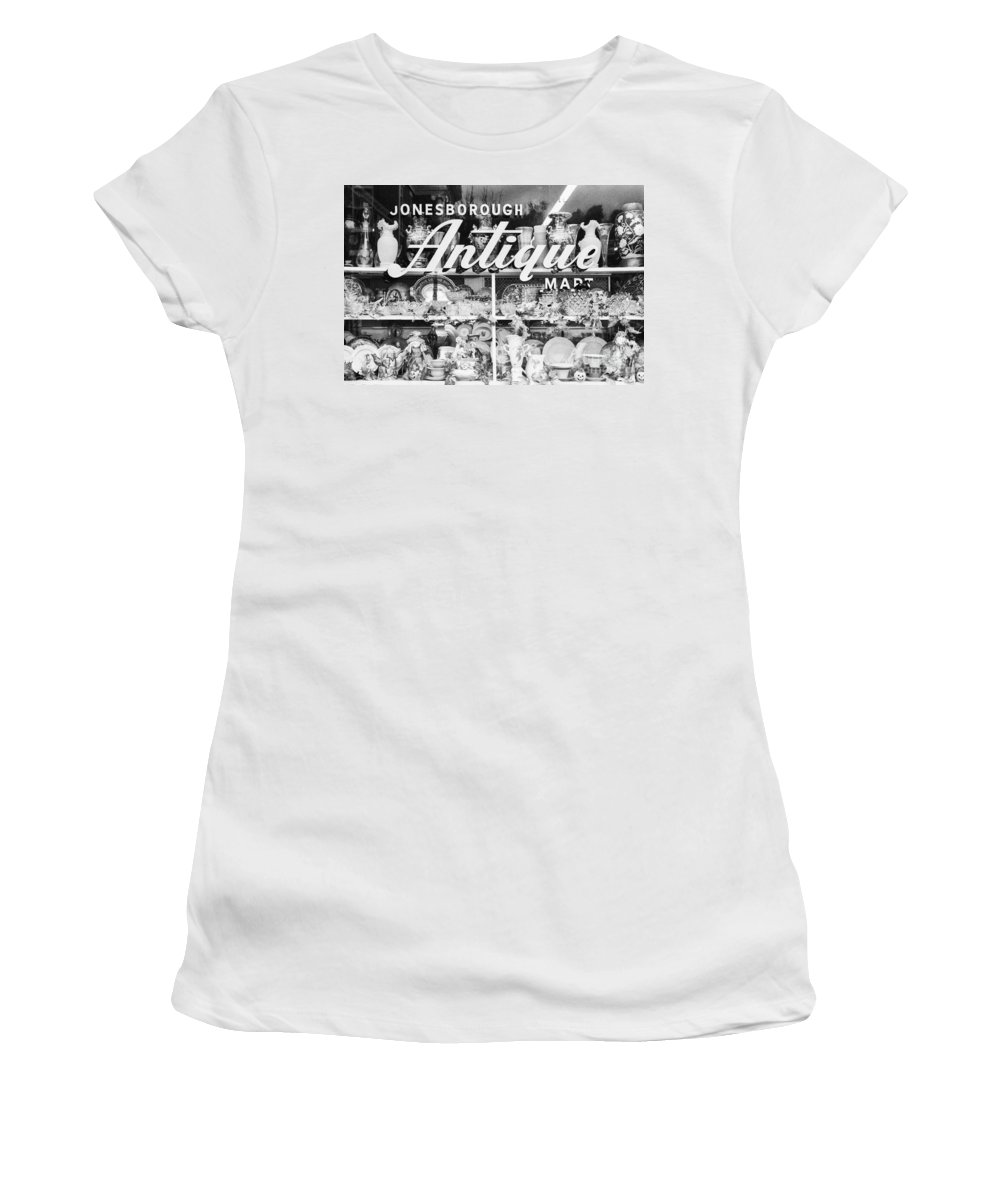 Antiques Women's T-Shirt (Athletic Fit) featuring the photograph Antiques - Old And New by Paul W Faust - Impressions of Light
