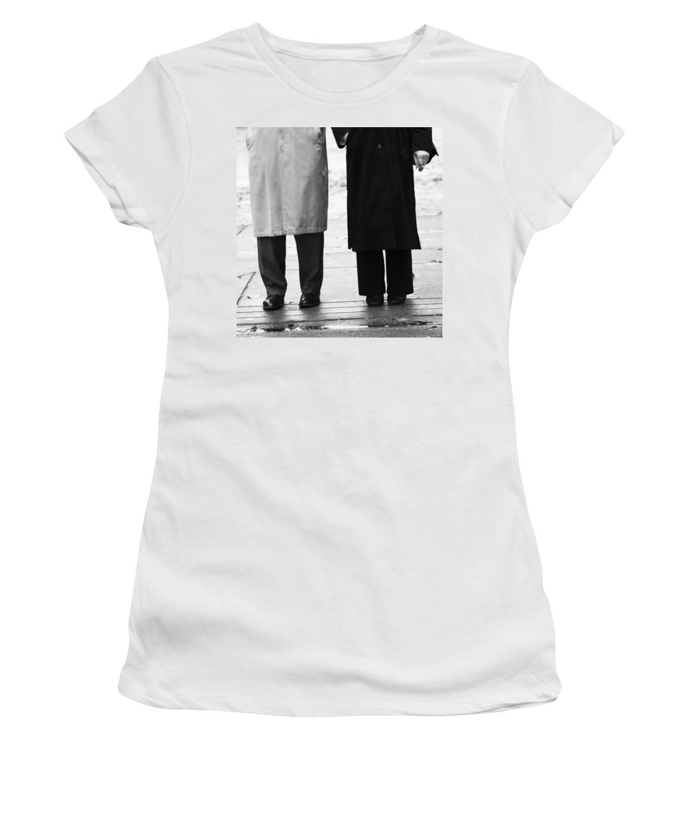 Street Women's T-Shirt featuring the photograph Archie N Edith by The Artist Project