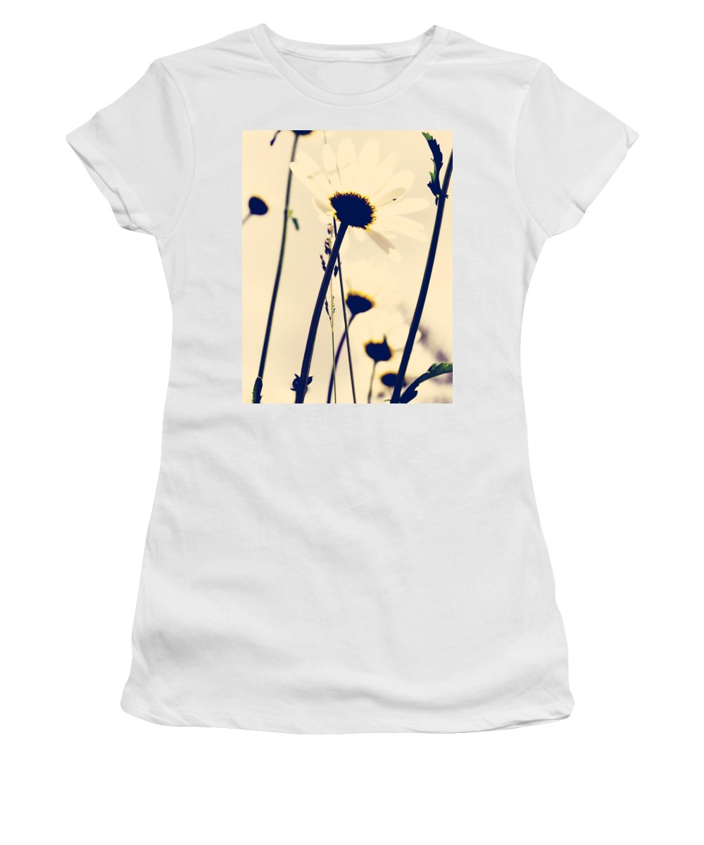 Flowers Women's T-Shirt featuring the photograph As The Air by The Artist Project