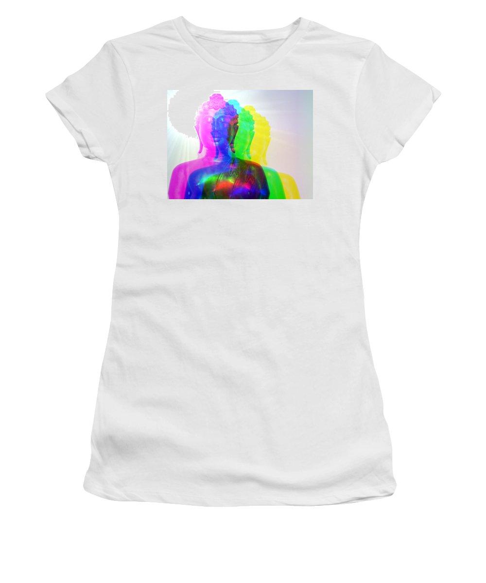 Awakening Women's T-Shirt (Athletic Fit) featuring the photograph Awakening by Bobbie Barth