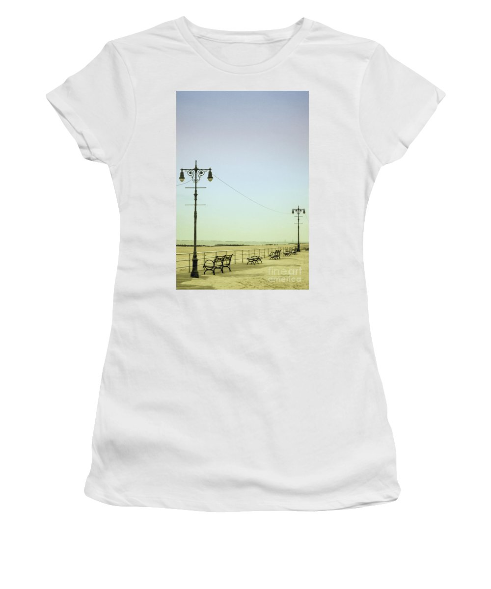 Place Women's T-Shirt featuring the photograph Boardwalk by Margie Hurwich