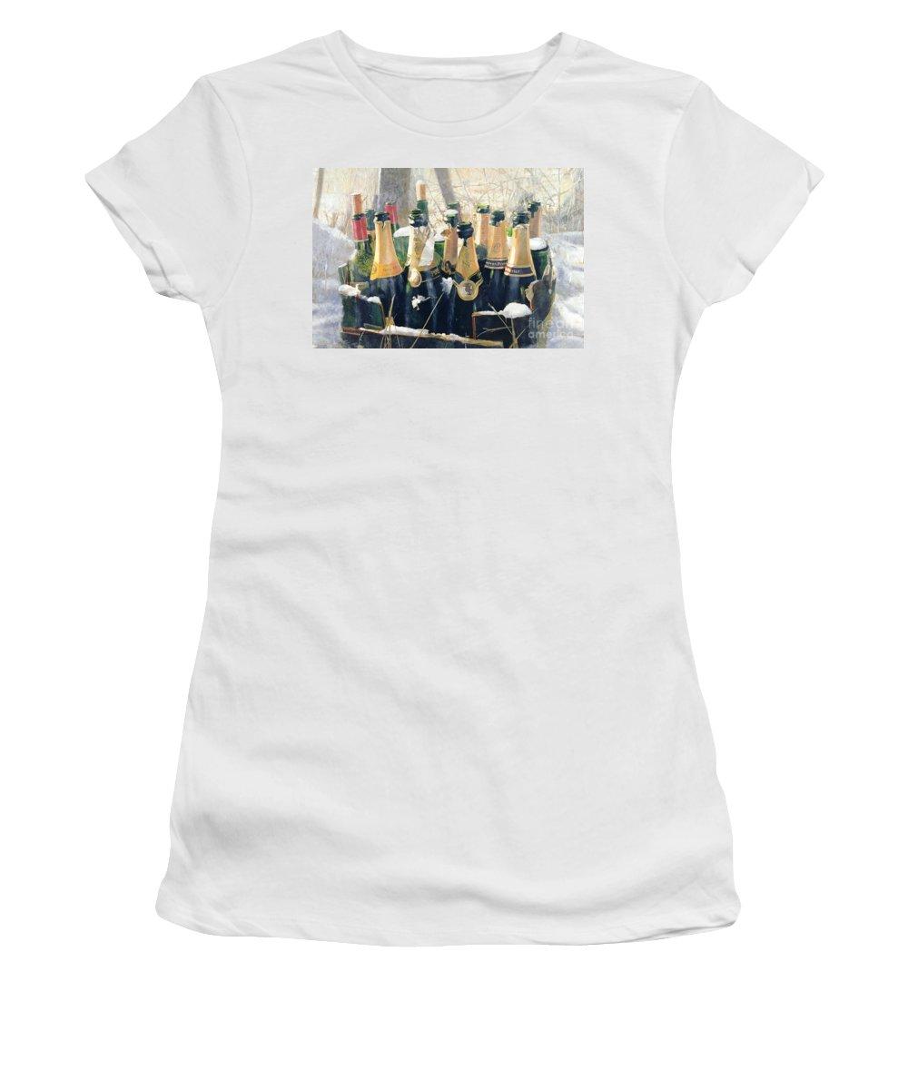 Cellar Mixed Media Women's T-Shirts