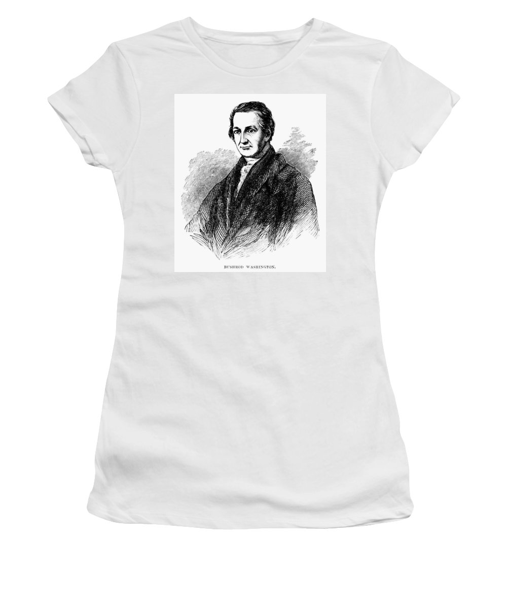 19th Century Women's T-Shirt (Athletic Fit) featuring the painting Bushrod Washington (1762-1829) by Granger
