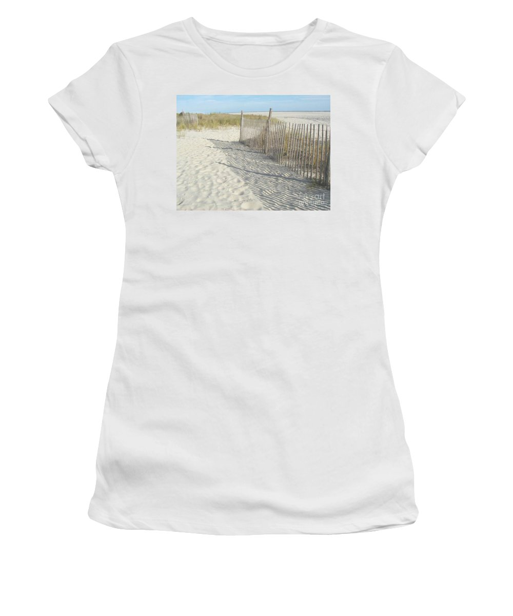 Cape May Women's T-Shirt featuring the photograph Cape May by Bev Conover