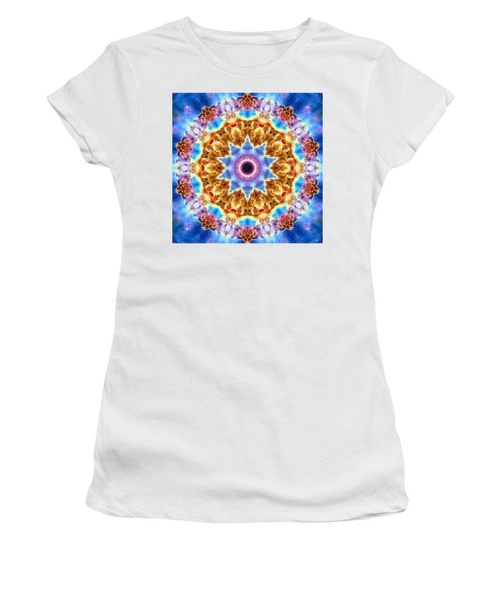 Carina Nebula I Women's T-Shirt (Athletic Fit) featuring the photograph Carina Nebula I by Derek Gedney