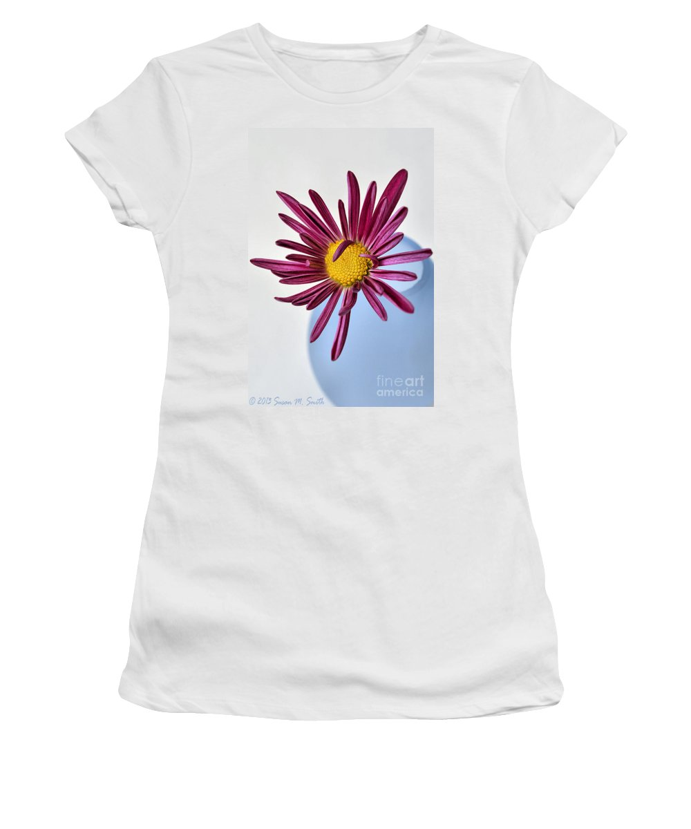 Photography Women's T-Shirt featuring the photograph Chasing The Blues Away by Susan Smith
