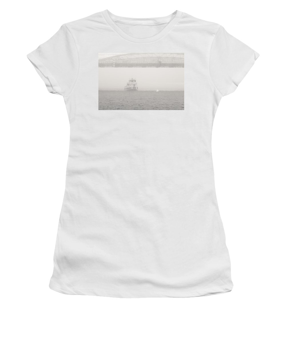Air Women's T-Shirt featuring the photograph Checking The Channel - Featured 3 by Alexander Senin