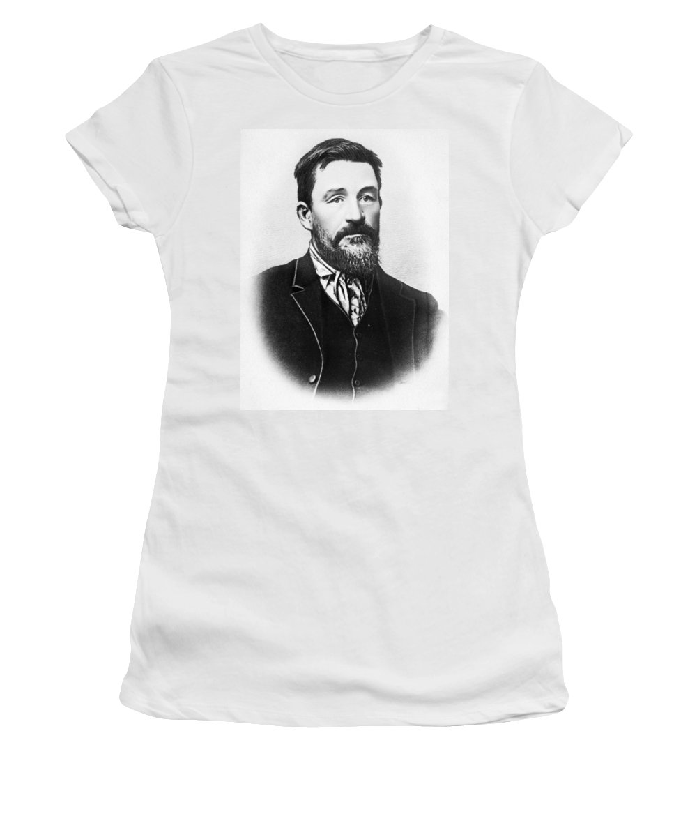 19th Century Women's T-Shirt (Athletic Fit) featuring the photograph Christian R by Granger