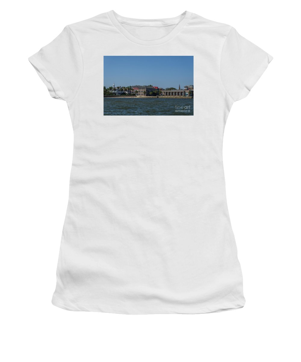 Historic Women's T-Shirt (Athletic Fit) featuring the photograph Chucktown by Dale Powell
