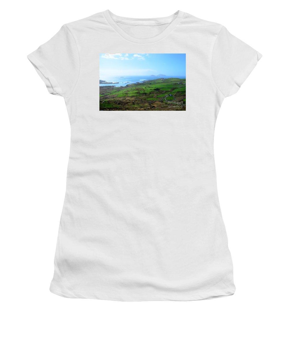 Irish Women's T-Shirt featuring the photograph Coastal Ireland by DejaVu Designs