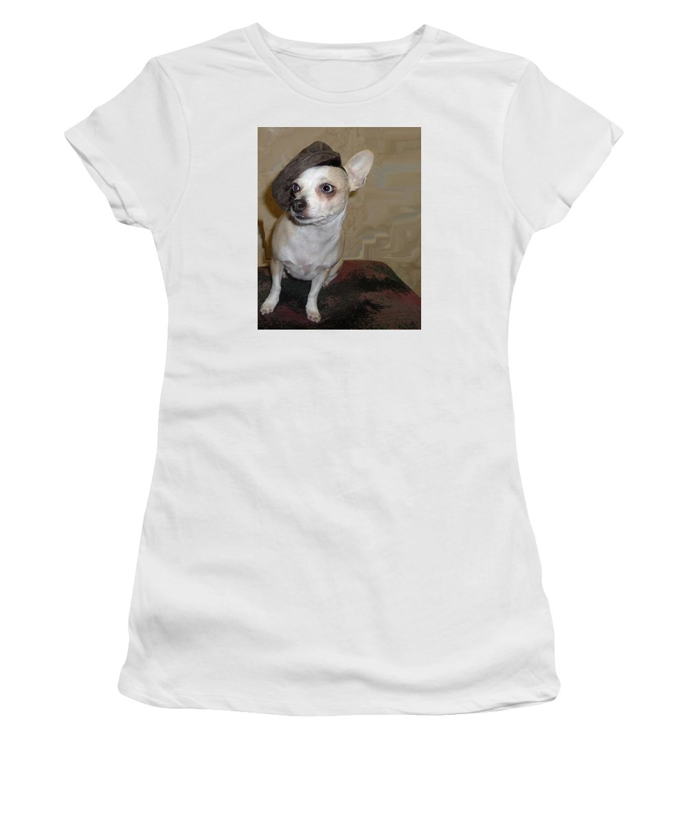 Chihuahua Women's T-Shirt featuring the photograph Crystals Tour by Leah Delano