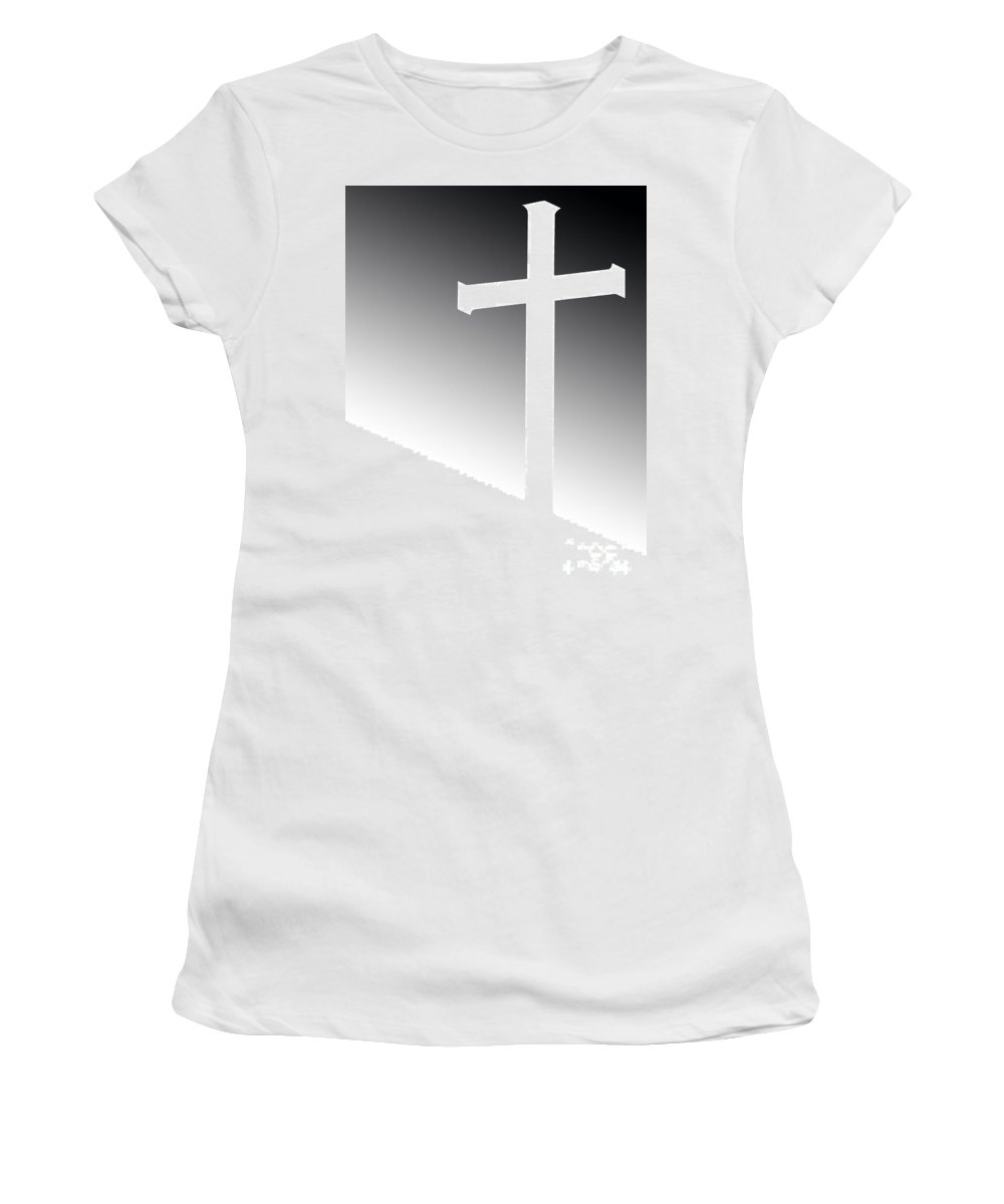 Ron Tackett Women's T-Shirt (Athletic Fit) featuring the photograph Day Has Come by Ron Tackett