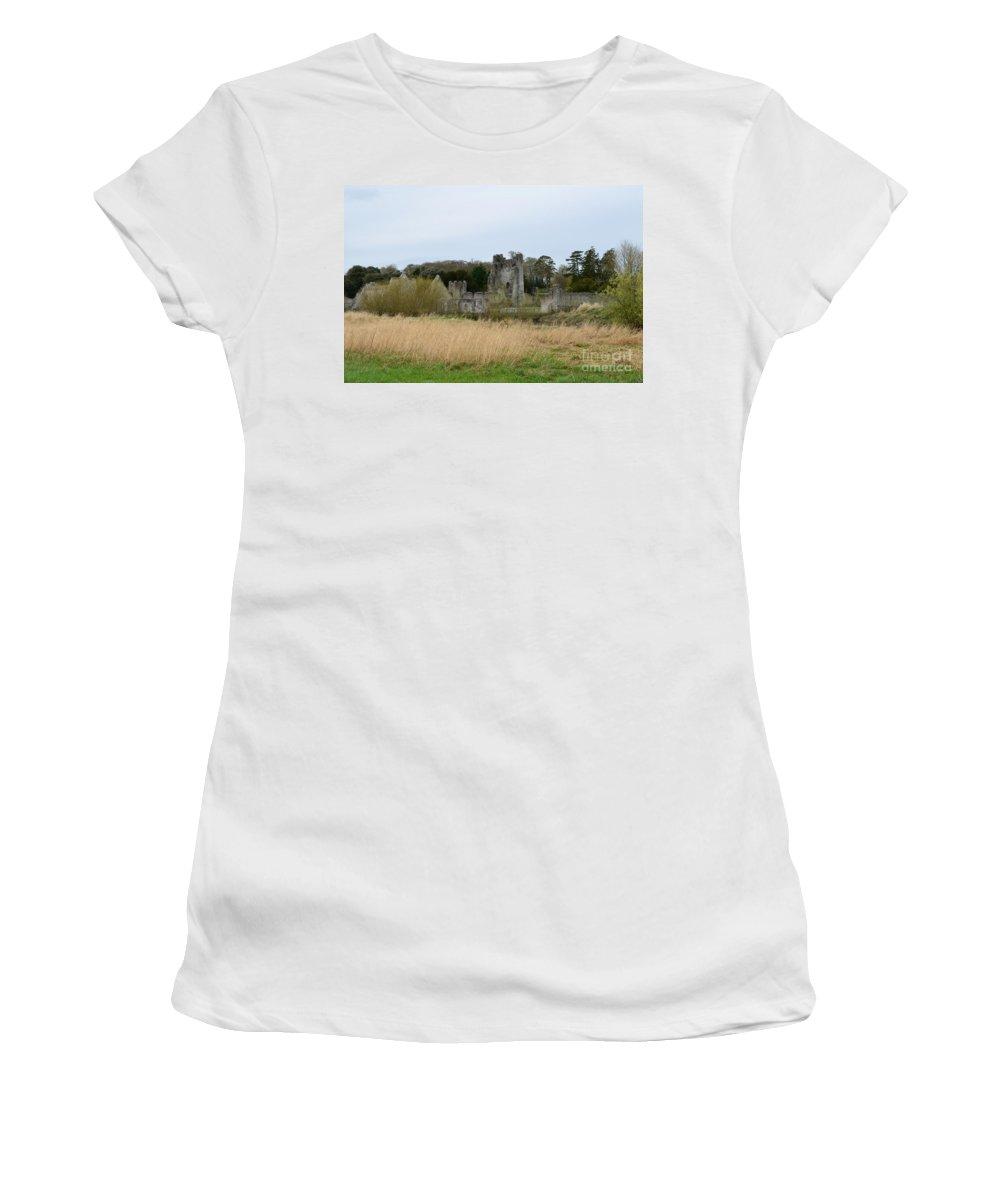 Desmond Castle Women's T-Shirt featuring the photograph Desmond Castle Views by DejaVu Designs