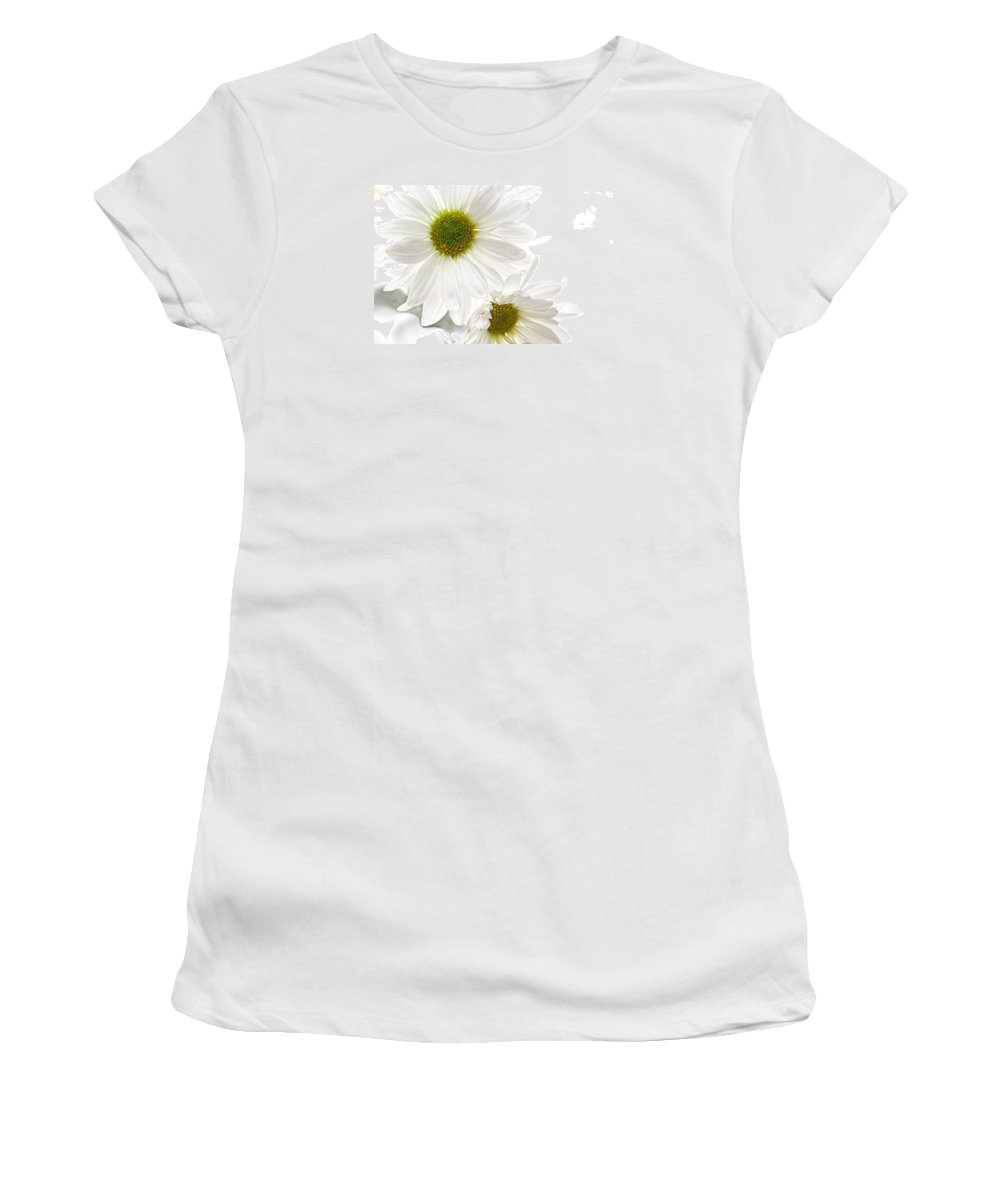 Flower Artwork Women's T-Shirt featuring the photograph Dreams by Mary Buck
