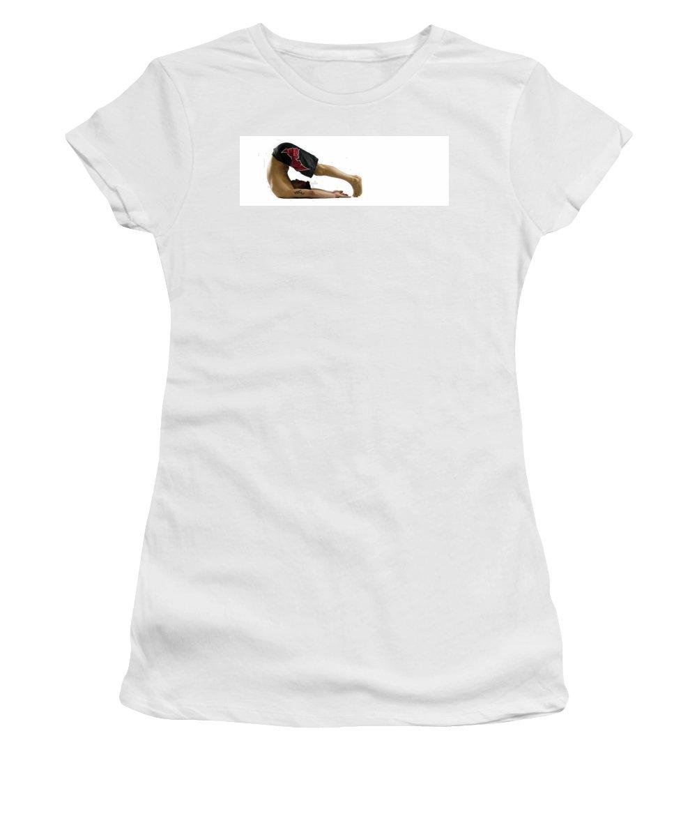 Lisa Knechtel Women's T-Shirt featuring the photograph Fit To Fight by Lisa Knechtel
