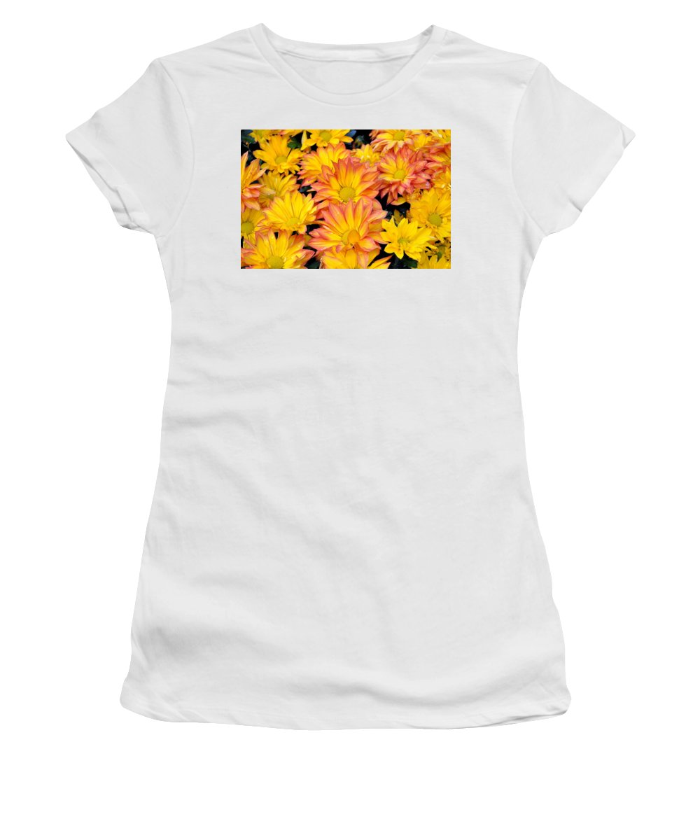 Flower Women's T-Shirt (Athletic Fit) featuring the photograph Flower by Gandz Photography