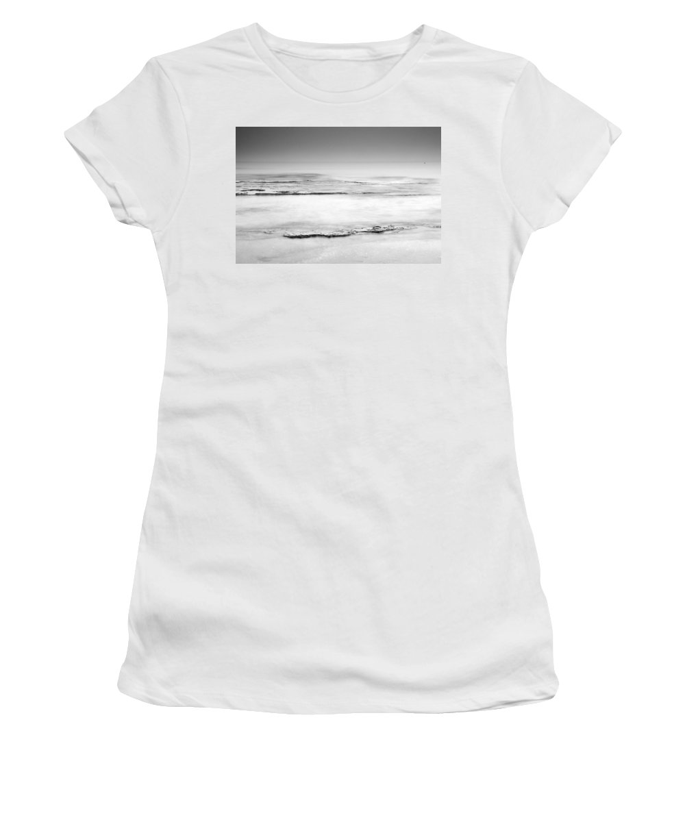 Seascape Women's T-Shirt featuring the photograph Foggy by Guido Montanes Castillo