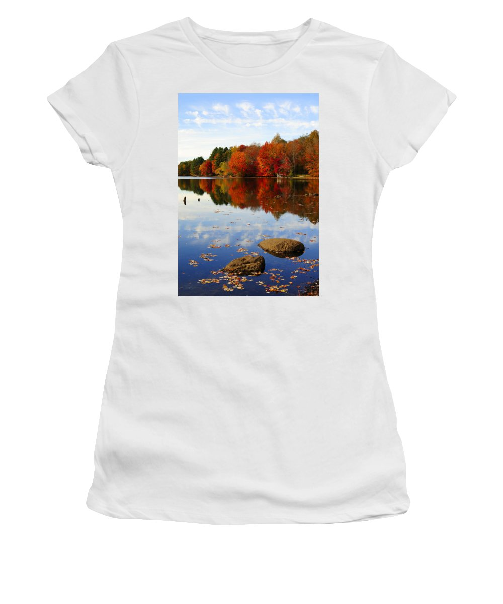 Autumn Women's T-Shirt (Athletic Fit) featuring the photograph Forever Autumn by Luke Moore