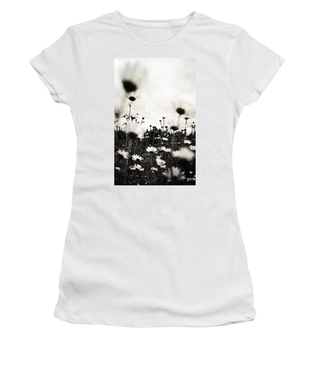 Flowers Women's T-Shirt featuring the photograph Forever Field by The Artist Project