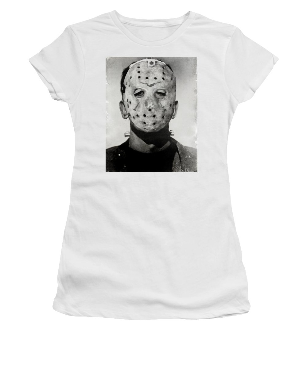 Mask Women's T-Shirt featuring the photograph Friendly Neighbour by The Artist Project