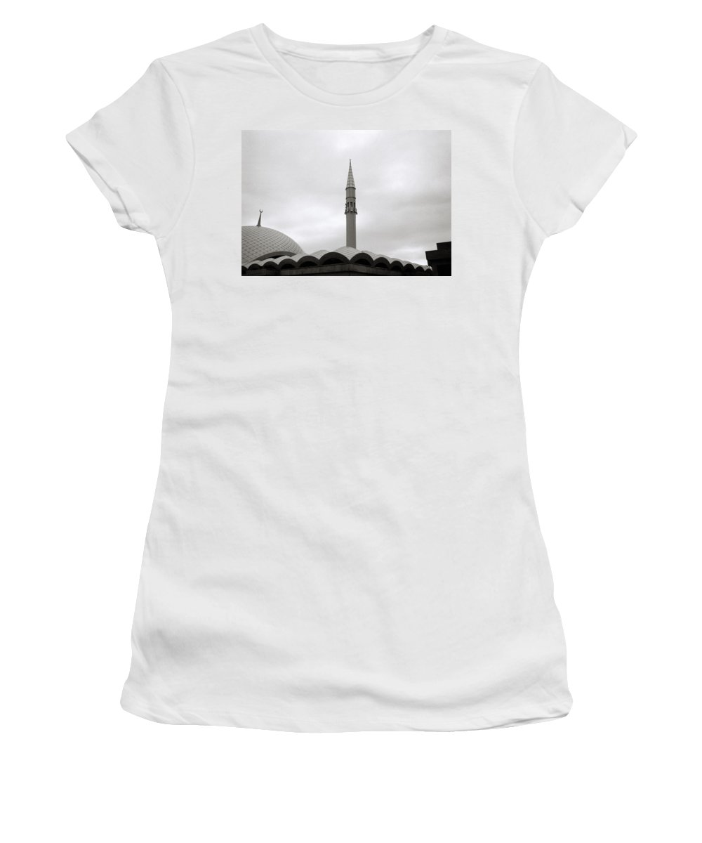Istanbul Women's T-Shirt (Athletic Fit) featuring the photograph Futuristic Islam by Shaun Higson